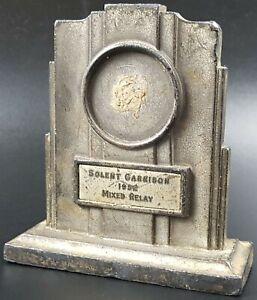 Vintage-Desk-Trophy-Solent-Garrison-1952-Mixed-Relay