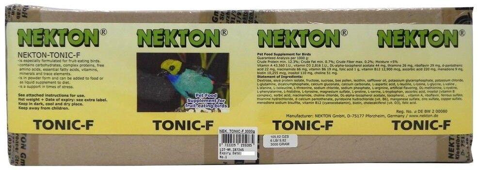 Nekton-Tonic-F Vitamin Supplement for Fruit Eating Birds (3000 grams)