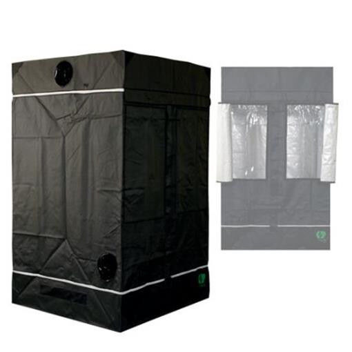 HomeLab 120 120 x 120 x 200 cm Grow & Anzucht Eastside Impex Growbox Growschrank
