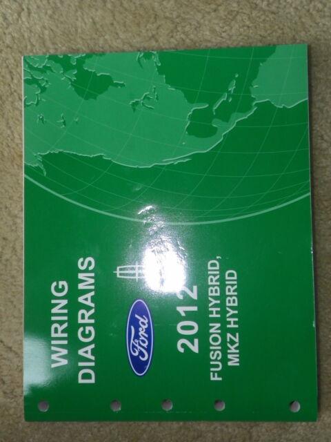 2012 Ford Fusion Hybrid Mkz Hybrid Wiring Diagrams