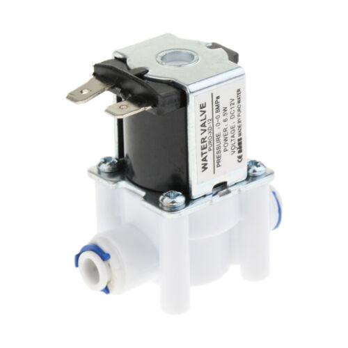 System A 12V Einlass Wasserventil Magnetventil N Steckschnittstelle C