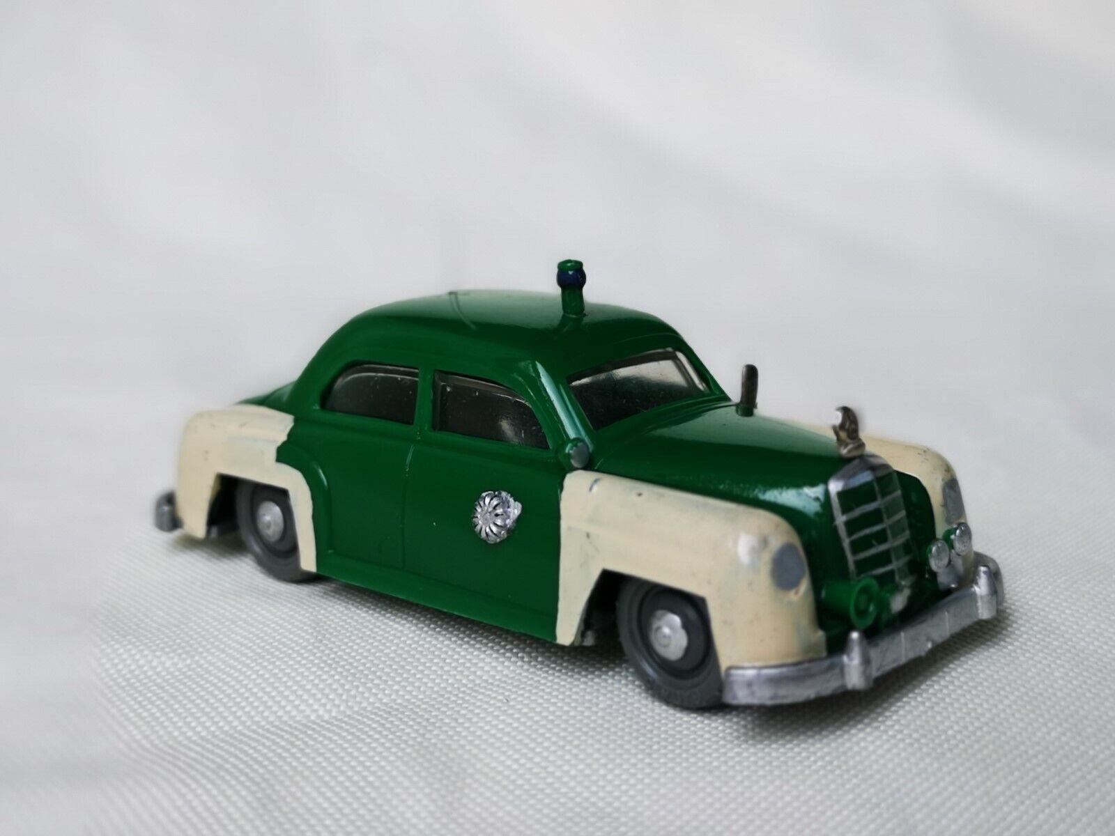 Siku plastic V52 Peter Car Police Mercedes 180 V Series