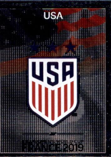 Wappen Panini Frauen WM 2019 Sticker 404 USA