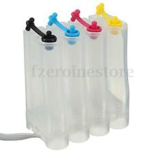 4 Color Refillable Ink Cartridge 50ML DIY Box CISS Fitting For Canon HP Printer