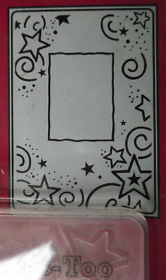 Crafts Too A6 Embossing Folder BABY FRAME CTFD3041