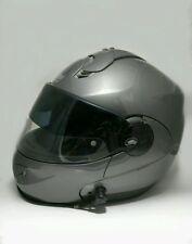 NOLAN N102 Helmet N-COM Bluetooth- Medium - Gun Metal Gray - VPS Visor - Italy