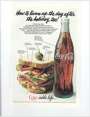 Coca Cola Advertisement - Vintage 1978 Coke Bottle National Geographic  Print | eBay