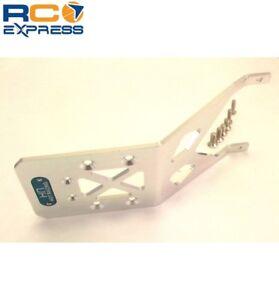 Hot-Racing-Traxxas-2wd-Rustler-Slash-Stampede-Skidplate-TE1331R-Trasero-de-Aluminio