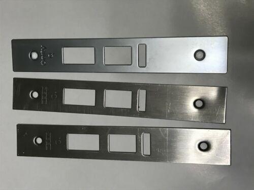 3X ONITY Faceplates STD with Deadbolt option 626 CM HF100-360