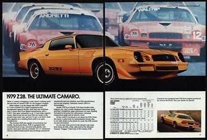 1979 Chevrolet Camaro Z28 Yellow V8 Sports Car Ultimate