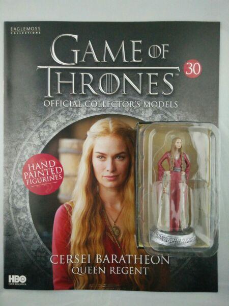Prezzo Basso Game Of Thrones Issue 30 Cersei Baratheon Eaglemoss Figura Collector's Modello