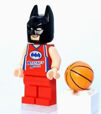 A859 Lego CUSTOM PRINTED The Lego Batman movie BASKETBALL PLAYER BATMAN MINIFIG