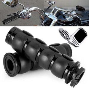 "Motorcycle Hand Grips 1/"" For Harley Davidson Softail Night Train Deluxe FLSTNI"
