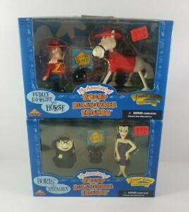 The-Adventures-Of-Rocky-amp-Bullwinkle-Figures-Boris-Natasha-Dudley-Do-Right-Horse