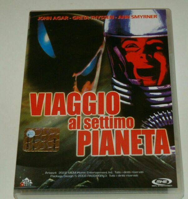 Viaggio al settimo pianeta (1962) DVD ORIGINALE