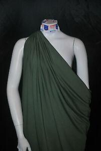 Bamboo-Cotton-Lycra-Jersey-Knit-Fabric-Eco-Friendly-4ways-spandex-Twine-Green