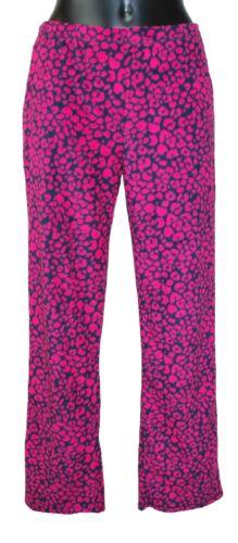 Tailles 8//10-20//22. Femmes Polaire Long Pyjama Pantalon//Pantalon dans trois styles