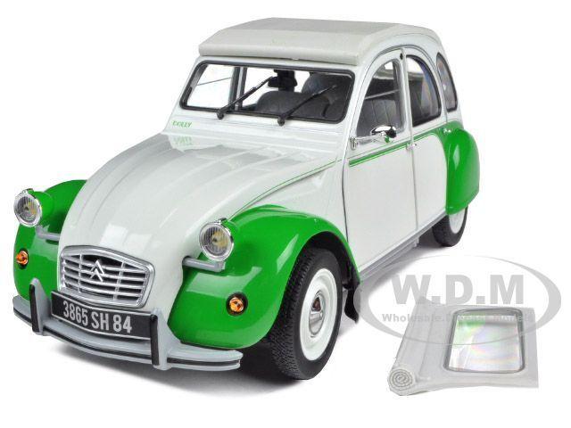 oferta especial 1985 Citroen Citroen Citroen 2CV Dolly blancoo verde 1 18 Diecast Modelo Coche por Norev 181512  Entrega gratuita y rápida disponible.