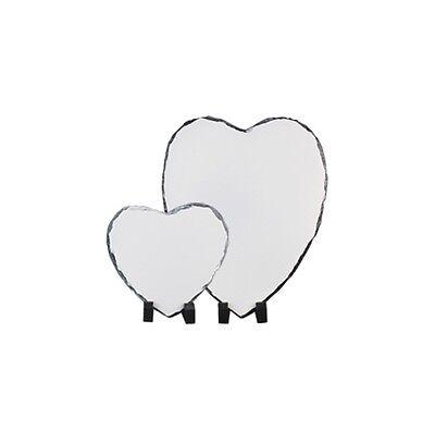HEART & CIRCLE Sublimation ROCK SLATE Printable Heat Press SH20 SH21 SH22 SH23