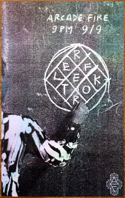 ARCADE FIRE Reflektor Ltd Ed Discontinued RARE Poster +FREE Indie Rock Poster!