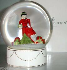 Royal Doulton Snow Globe Christmas Gifts Pretty Ladies HN5524 Limited New Boxed