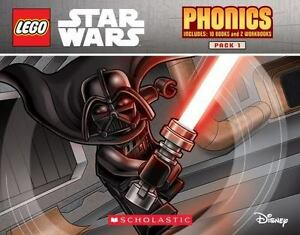Details About Lego Star Wars Phonics Pack 1 Disney Learn To Read 12 Books In Travel Case 3 5yr