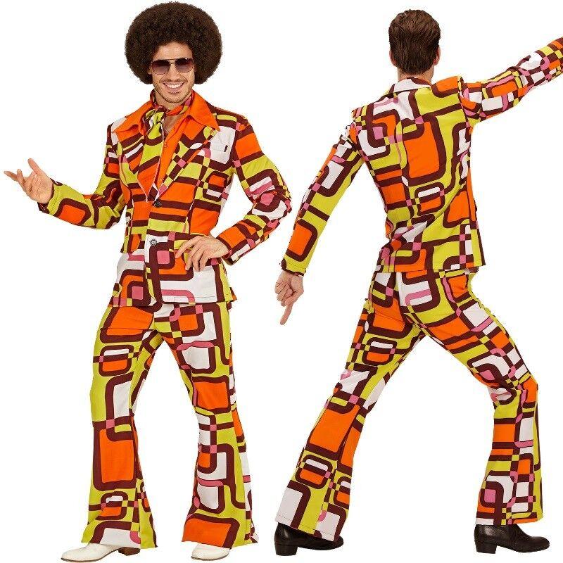 70er 60er Disco Dancing Anzug Herren Kostüm - - - Mike Schlagermove Hippie Retro | Erlesene Materialien  | Düsseldorf Eröffnung  | Um Zuerst Unter ähnlichen Produkten Rang  48ae6b
