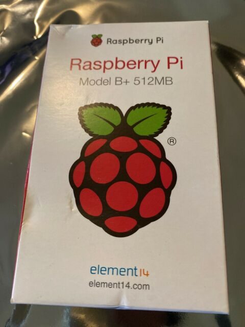 Raspberry Pi Model B+ 512mb Ethernet, HDMI, MicroSD