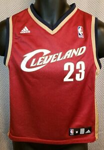 check out 73a5c 7aa92 Details about Cleveland Cavaliers LeBron James Adidas Rookie Jersey 2003  EUC - Boys M Womens S