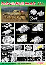 1/35 Dragon Pz.Beob.Wg.II Ausf.A-C 2 In 1 #6812