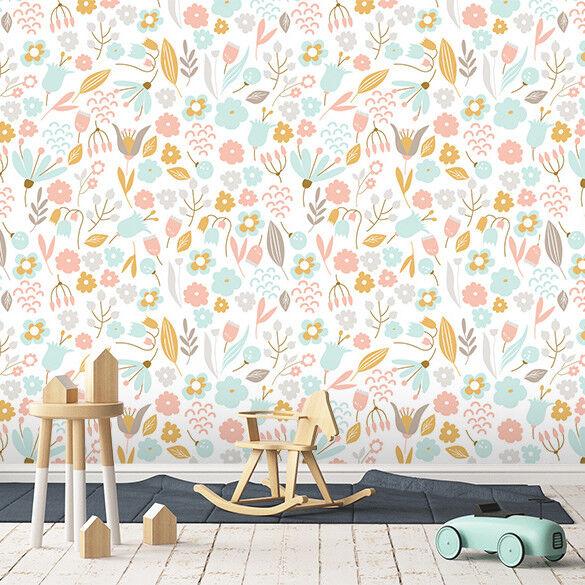 3D Flower Grass 752 Wall Paper Murals Wall Print Wall Wallpaper Mural AU Summer