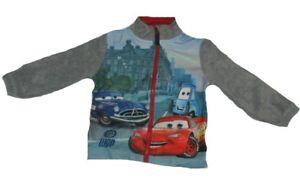 Kinder-Jungen-Disney-Cars-McQueen-Kapuzenjacke-Pullover-Boy-Sweater-Sweatjacke