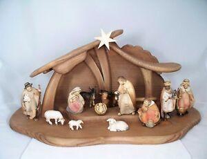 Mentari Krippe für Kinder Weihnachtskrippe aus Holz Spielset NEU 226367 Kleinkindspielzeug