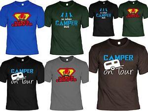 Camper T Shirt Camping Ausrustung Lustige Spruche Camping