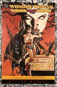 DC-Comics-Wonder-Woman-Bitter-Rivals-TPB-Softcover-2004-Graphic-Novel-MINT