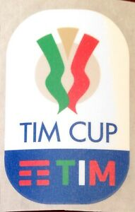 2019 Italian Coppa Italia Tim Cup Official Stilscreen Football Badge Patch Ebay