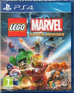 Lego Marvel Super Heroes Game Ps4 New Sealed Ebay