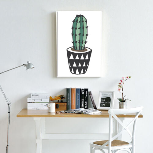 Cactus Plant Poster Prints Wall Art Canvas Painting Nordic Style Home Decoration