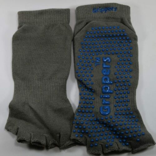 """Quality """"NEW"""" Grippers™ Pilates /& Yoga Socks All Grip and Non-Slip 95/% Cotton"""