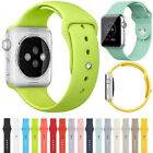 S/L Size Silicone Wrist Bracelet Replacement Band Strap For Apple Watch iWatch