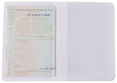 Fahrzeugschein Hülle KFZ Schein Schutzhülle Führerschein Etui Mappe Zulassung