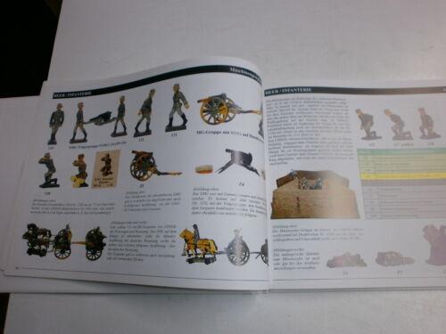 Das Lineol Bilderbuch 2004 für Lineol 7.5cm Massesoldaten Wehrmacht Ausländer