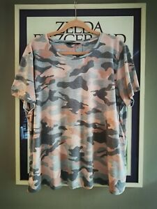Women's Marks And Spencer Pink Cameo T-shirt NWOT (SZ 20)