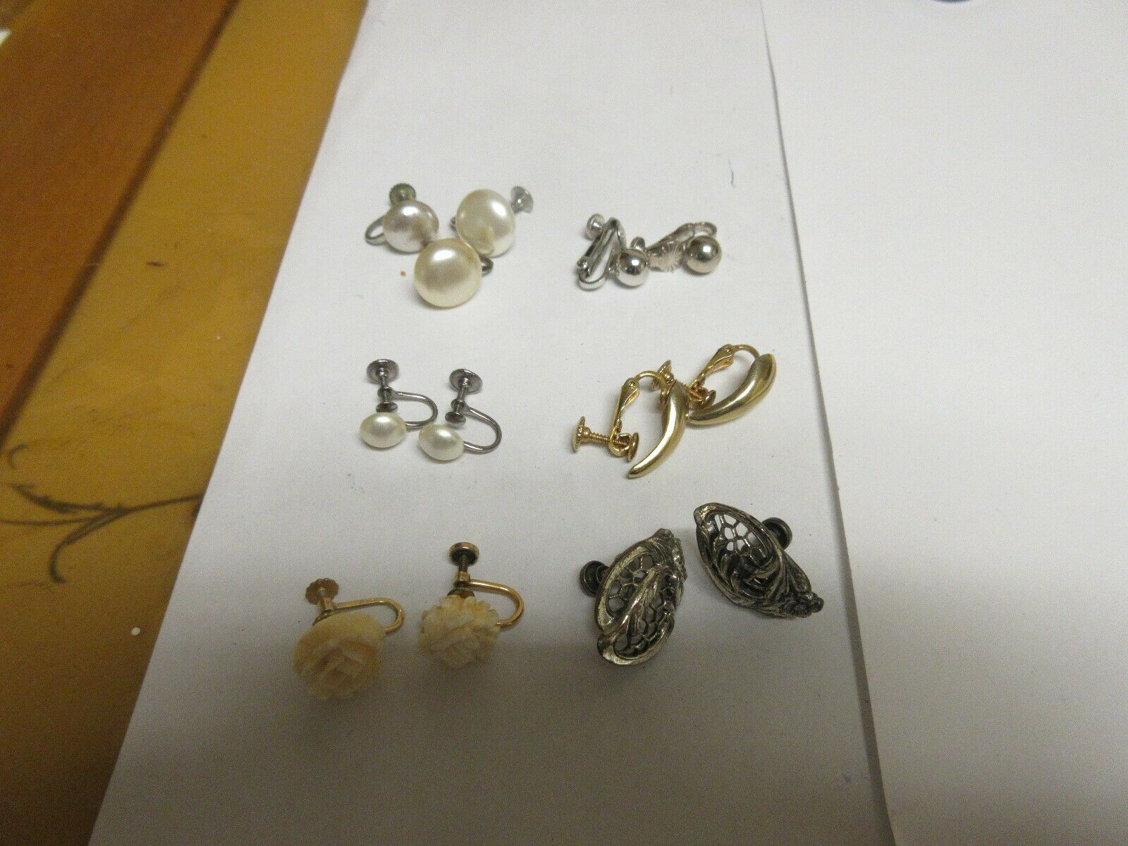 Costume Jewelry ,Earrings ,Vintage ,Marino , Dan Craft
