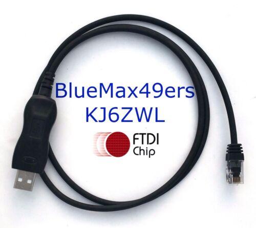 FTDI USB Yaesu Programming Cable FT-1802 FT-1807 FT-1907 CT-29F