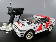 Vintage Rare Tamiya 1/12 RC Toyota Celica GR.B Rally+ Futaba remote+ light
