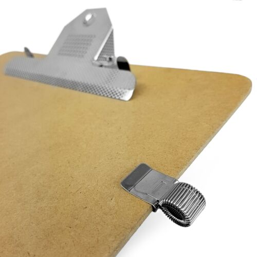 Ideal für Ärzte // Klemmbrett Clip Metall Stift Halter Notizbuch