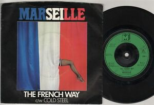 MARSEILLE-The-French-Way-7-034-Ps-Orig-1978-Nwobhm-Single-B-W-Cold-Steel-Bon-1