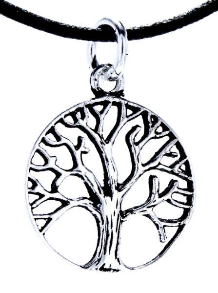 Angemessen Nr 98: Lebensbaum 925 Silber Anhänger Kette Yggdrasil Weltenbaum Baum Des Lebens
