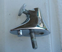Corvette Parts Early 1956 1955 Dash Mirror Base Chrome Includes Thumb Screw